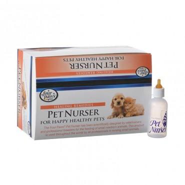 Four Paws Pet Nurser 2 oz Bottles - 24 Pack