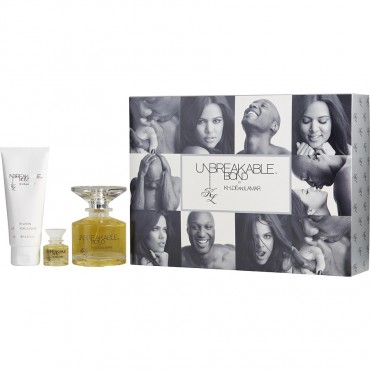 Unbreakable Bond By Khloe And Lamar - Eau De Toilette Spray 3.4 oz And Body Lotion 3.4 oz And Eau De Toilette 0.25 oz Mini