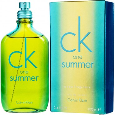 Ck One Summer  Eau De Toilette Spray Limited Edition 2014 3.4 oz