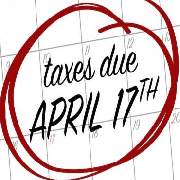 Calendar - Tax Day