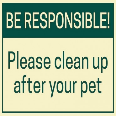 Be Responsible!
