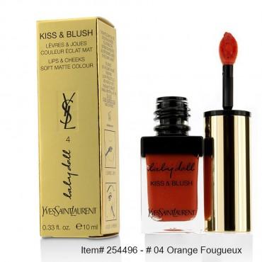Yves Saint Laurent - Baby Doll Kiss & Blush  04 Orange Fougueux 10ml/0.33oz