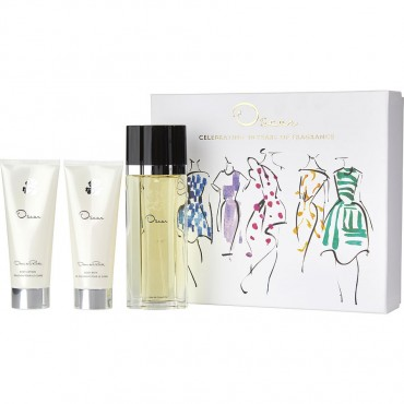 Oscar - Eau De Toilette Spray 3.4 oz And Body Lotion 3.4 oz And Body Bath 3.4 oz
