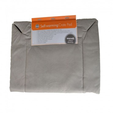 K and H Self-Warming Crate Pad - Gray - 25 Long x 37 Wide