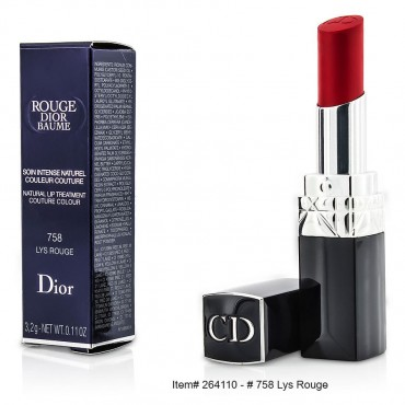 Christian Dior - Rouge Dior Baume Natural Lip Treatment Couture Colour  468 Spring 3.2g/0.11oz