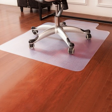 48 In. x 36 In. PVC Home Office Chair Floor Mat