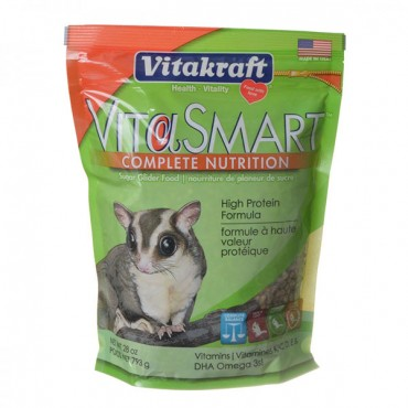 Vitakraft VitaSmart Complete Nutrition Sugar Glider Food - 28 oz