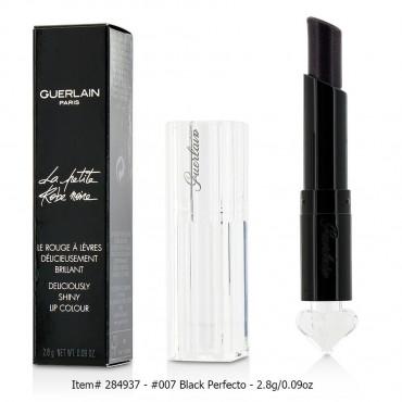 Guerlain - La Petite Robe Noire Deliciously Shiny Lip Colour 2.8g 0.09oz  007 Black Perfecto