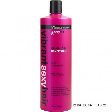Sexy Hair - Vibrant Sexy Hair Color Lock Sulfate Free Color Conserve Conditioner 10.1 oz