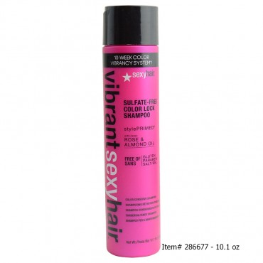 Sexy Hair - Vibrant Sexy Hair Color Lock Sulfate Free Color Conserve Shampoo 10.1 oz