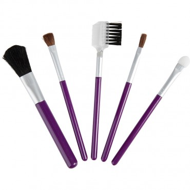 Exceptional Because You Are - Set 5 Piece Travel Makeup Brush Set