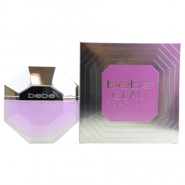 Bebe Glam Platinum - Eau De Parfum Spray 3.4 oz