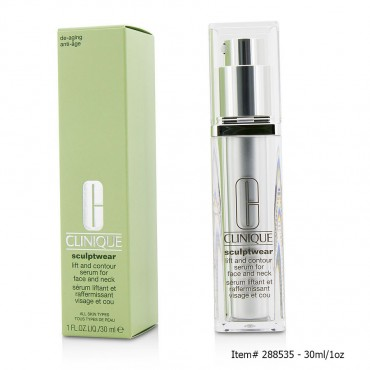 Clinique - Sculptwear Lift And Contour Serum For Face And Neck 30ml/1oz