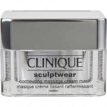 Clinique - Sculptwear Contouring Massage Cream Mask  For All Skin Types 50ml/1.7oz