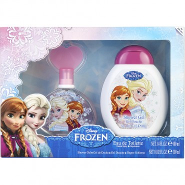 Frozen Disney - Eau De Toilette Spray 3.4 oz And Shower Gel And Shampoo 10 oz