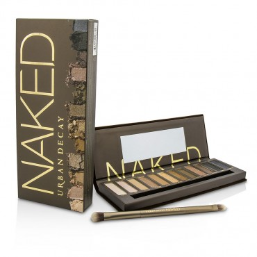 Urban Decay - Naked Eyeshadow Palette 12x Eyeshadow 1x Doubled Ended Shadow Blending Brush