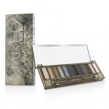 Urban Decay - Naked Smoky Eyeshadow Palette 12x Eyeshadow 1x Doubled Ended Smoky Smudger/Tapered Crease Brush