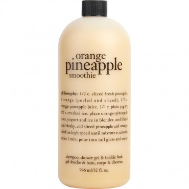 Philosophy - Orange Pineapple Smoothie Shampoo Shower Gel And Bubble Bath 946.4ml/32oz