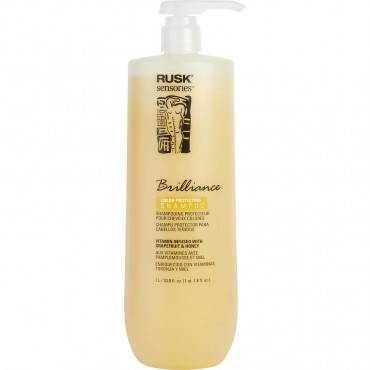Rusk - Sensories Brilliance Grapefruit And Honey Color Protect Shampoo New Packaging 33.8 oz