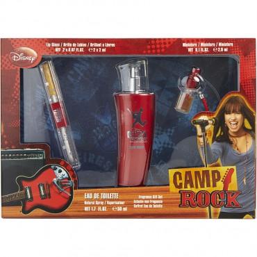 Camp Rock - Eau De Toilette Spray 1.7 oz And Lip Gloss And Eau De Toilette Mini 0.1 oz
