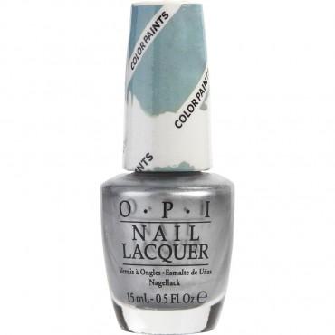 Opi Silver Canvas Nail Lacquer P19 0.5oz