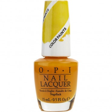 Opi - Opi Primarily Yellow Nail Lacquer P20 0.5oz