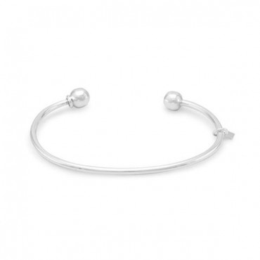 Charm Cuff with Ball End