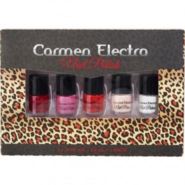 Carmen Electra - 5pc Nail Polish 0.14oz 4.4ml Each