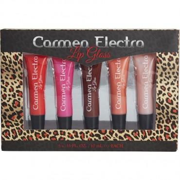 Carmen Electra - 5pc Lip Gloss 0.33oz 10ml Each