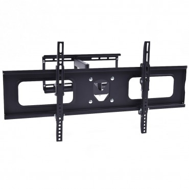 Dual Arm Full Motion Tilt LCD LED TV Wall Mount Bracket 36 42 46 50 55 60 65 70