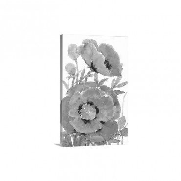 Poppy Floral I I Wall Art - Canvas - Gallery Wrap