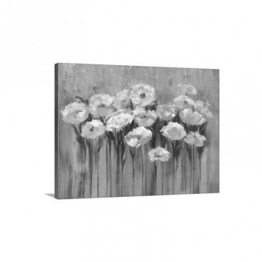 Anemones by the Lake Wall Art - Canvas - Gallery Wrap