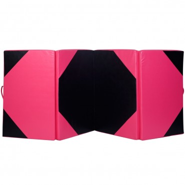 4 Ft. x 10 Ft. x 2 In. Thick Folding Panel Gymnastics Mat