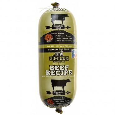 Redbarn Semi-Moist Beef Recipe Premium Dog Food Roll - 2lb. 3 oz