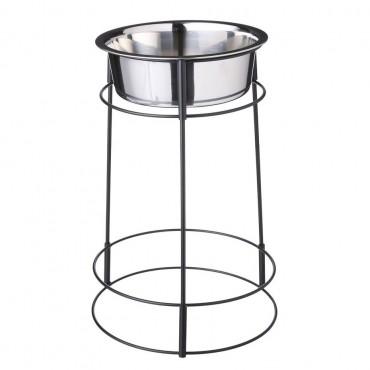 Spot Hi-Rise Single Stainless Steel Diner - 2 Quart 14.25 Tall x 6.5 Diameter Bowl