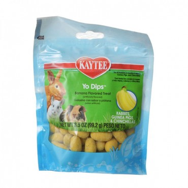 Kaytee Fiesta Yogurt Dipped Treats - Rabbits and Guinea Pigs - 3.5 oz - 2 Pieces