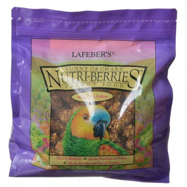 Lafeber Sunny Orchard Nutri-Berries Parrot Food - 3 lbs