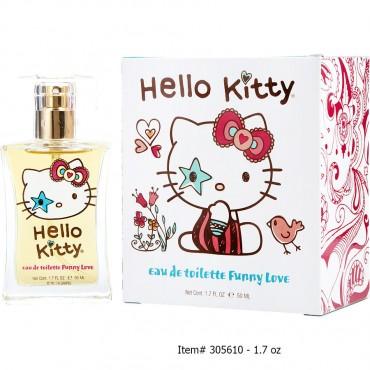 Hello Kitty - Funny Love Eau De Toilette Spray New Packaging 1.7 oz