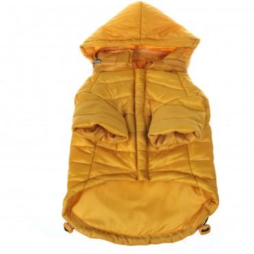 Lightweight Adjustable Sporty Avalanche Pet Coat - Yellow