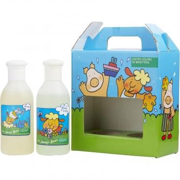 Benetton On Benny's Farm - Eau De Toilette 6.7 oz And Shampoo 6.7 oz Fresh Water Scent