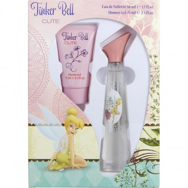 Disney Tinkerbell - Flower Eau De Toilette Spray 1.7 oz And Shower Gel 2.5 oz