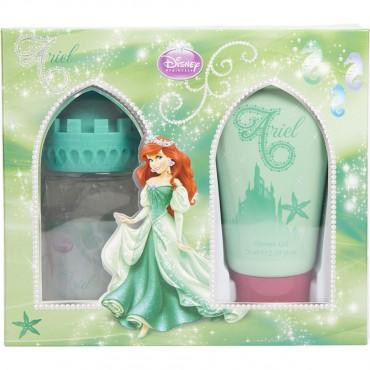 Little Mermaid - Eau De Toilette Spray 1.7 oz Castle Packaging And Shower Gel 2.5 oz