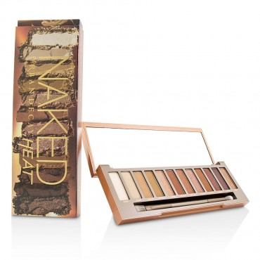 Urban Decay - Naked Heat Palette 12  Eyeshadow 1  Doubled Ended Blending  Detailed Crease Brush