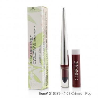 Clinique - Pop Lip Shadow Cushion Matte Lip Powder  03 Crimson Pop 1.2g/0.04oz