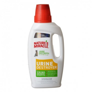 Nature's Miracle Just for Cats Urine Destroyer - 32 oz - 2 Pieces
