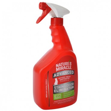 Nature's Miracle Just for Cats Advanced Stain and Odor Remover - 32 oz