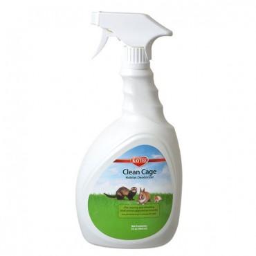 Kaytee Clean Cage Habitat Deodorizer - 32 oz