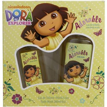 Dora The Explorer - Adorable Eau De Toilette Spray 3.4 oz And Body Wash 8 oz