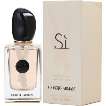 Armani Si Rose II Cologne - Eau De Parfum Spray 1.7 oz