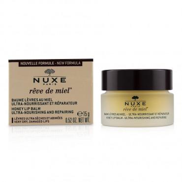 Nuxe - Reve De Miel Ultra Nourishing And Repairing Honey Lip Balm For Very Dry Damaged Lips 15ml/0.52oz